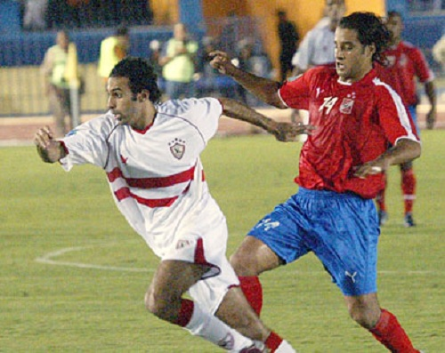 Al-Ahly and Zamalek meet in the 2005 African Champions League