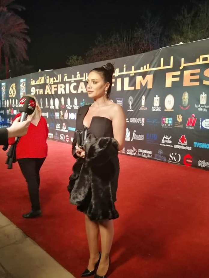 Rania Youssef shine on the red carpet
