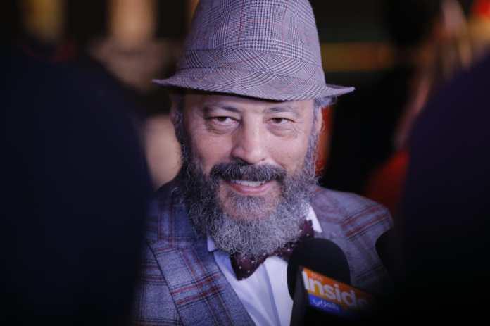 Artist Hisham Abdel Galil at the festival