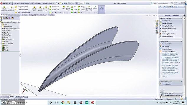3D beak