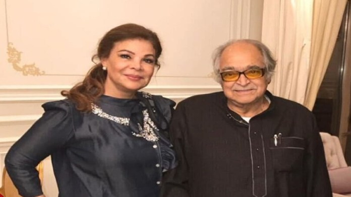 Safaa Abu Al-Saud and her late husband, Saleh Kamel