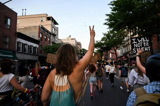 مسيرة بأحد شوارع نيويورك