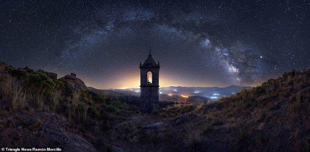 مشهد مجرة درب التبانة