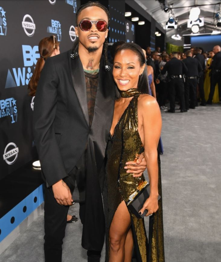American actress Jada with rapper