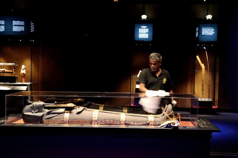 معرض توت عنخ آمون فى لندن (6)