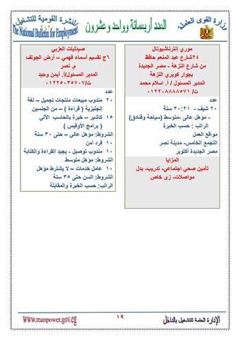 نشرة التوظيف (19)