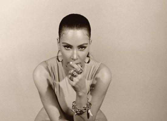 Kim Kardashian in her latest appearance (1)