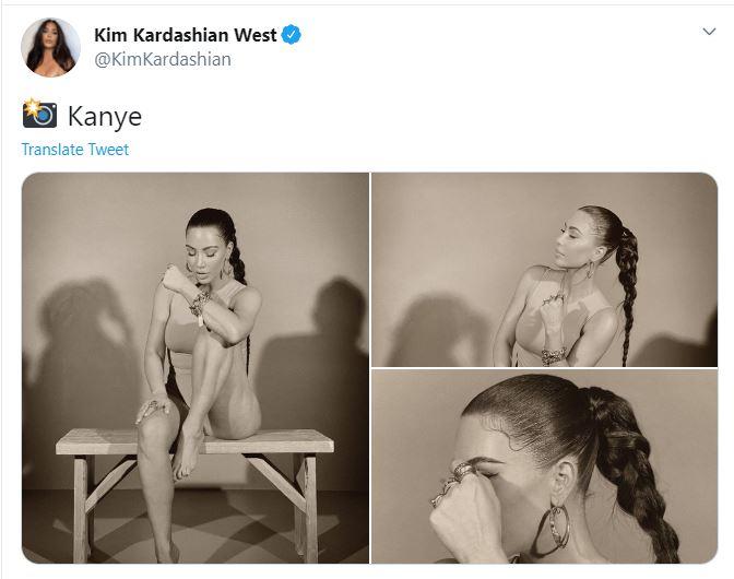 Reality TV star via Twitter