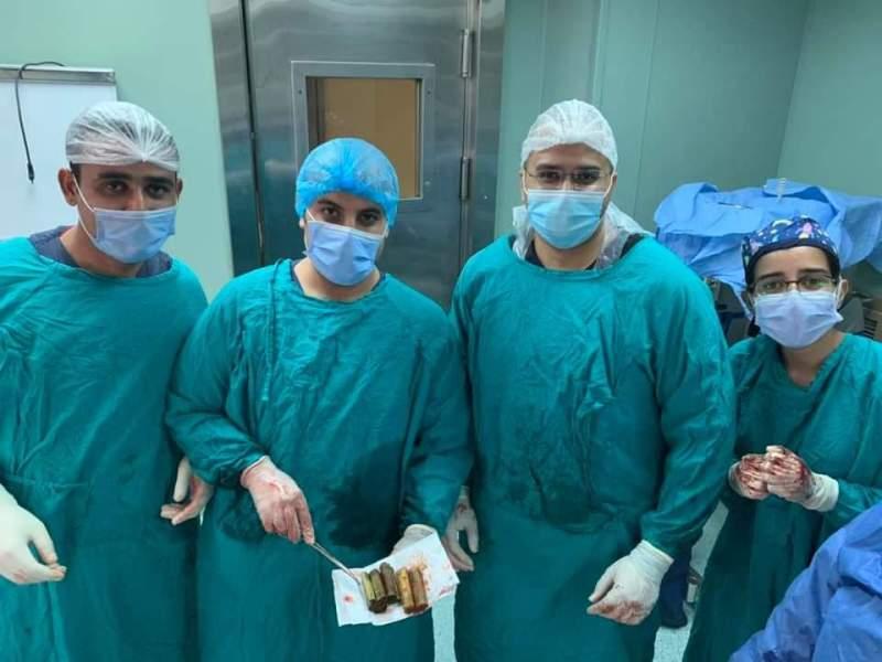 The medical team