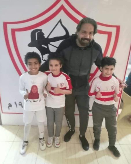 Mohamed Mohsen with Medhat Abdel Hadi
