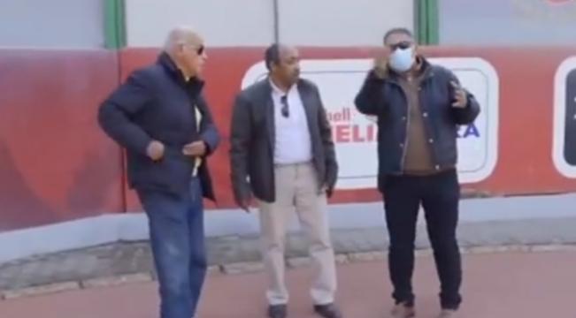 An Ismaili delegation visits Al-Ahly (1)