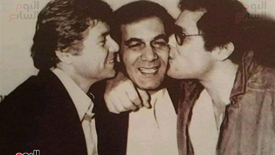 Dearest friends of Mahmoud Yassin, Mahmoud Abdel Aziz and Hussein Fahmy
