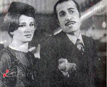 Mahmoud Yassin and Naglaa Fathy