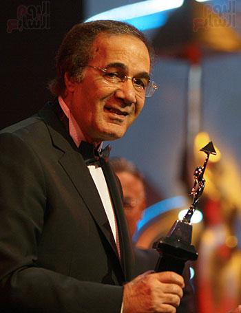 Mahmoud Yassin won the Cairo Festival award