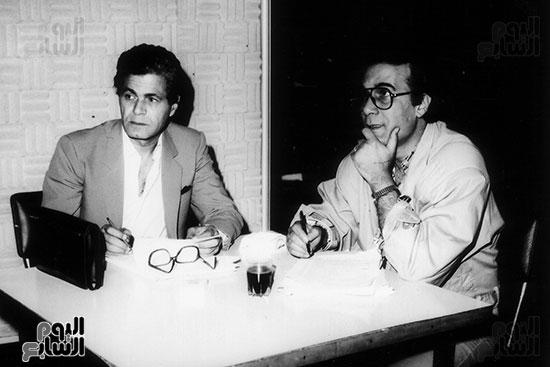 Mahmoud Yassin and Salah before