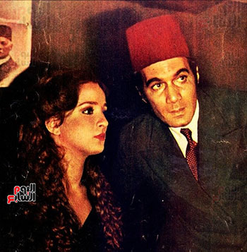 Mahmoud Yassin and Naglaa Fathy in one of the films
