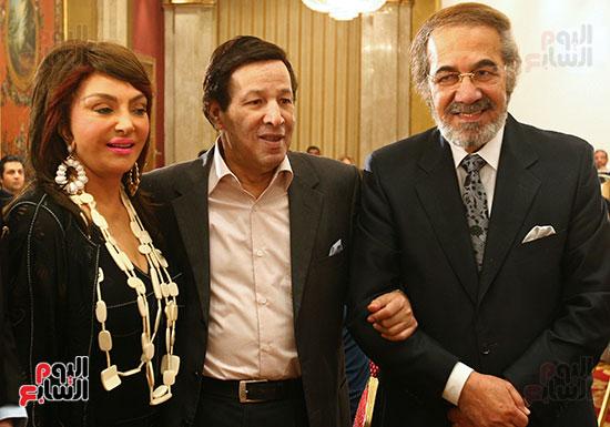 Mahmoud Yassin, Saeed Saleh and Nabila Obeid
