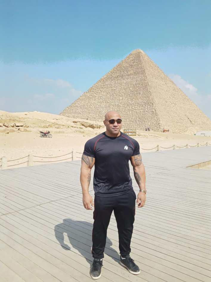 الأهرامات،بيج رامي،كمال الأجسام. (2)