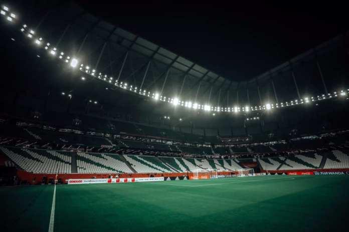 Education City Stadium before the Al-Ahly and Al-Duhail match