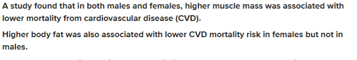 How do fats protect females from heart disease?
