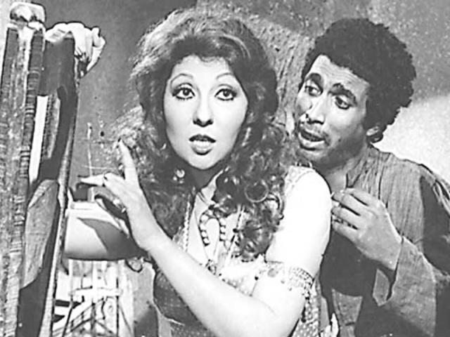 Nadia El-Gendy and Ahmed Zaki
