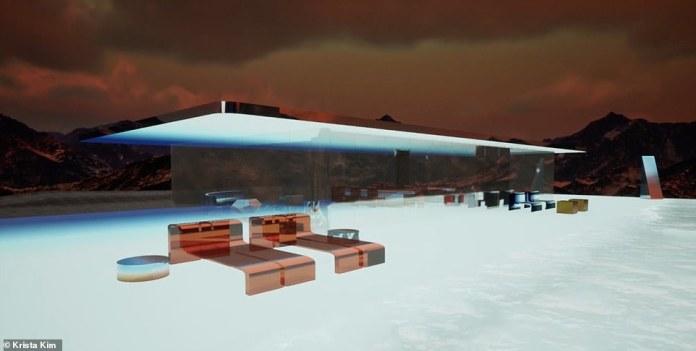Virtual home on Mars