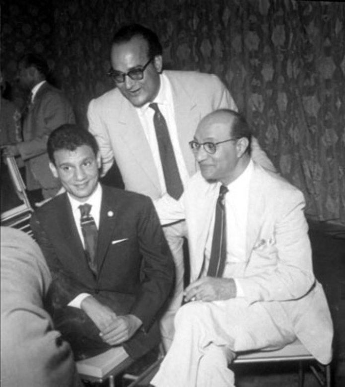 Abdel Halim Hafez and Mohammed Abdel Wahab
