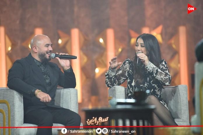 Kinda Alloush and Mahmoud Al-Asaily