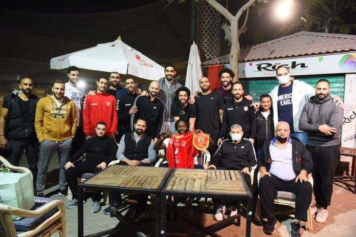 Al-Ahly players bid farewell to Young