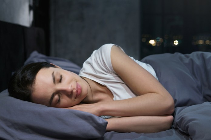 Make sure to sleep well