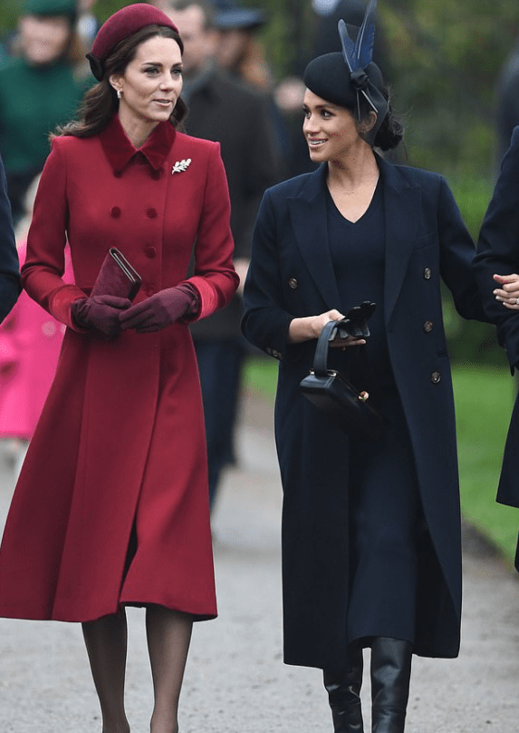 Kate Middleton and Megan Markle