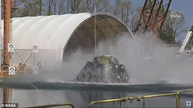 NASA landing craft
