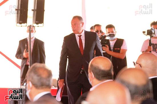 Ceremony of laying the cornerstone of Al-Ahly Stadium (49)