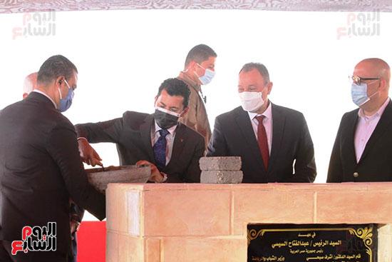Ceremony of laying the cornerstone of Al-Ahly Stadium (63)