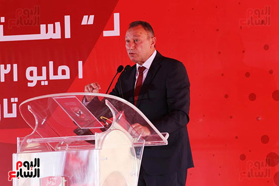 Ceremony laying the foundation stone for Al-Ahly Stadium (36)