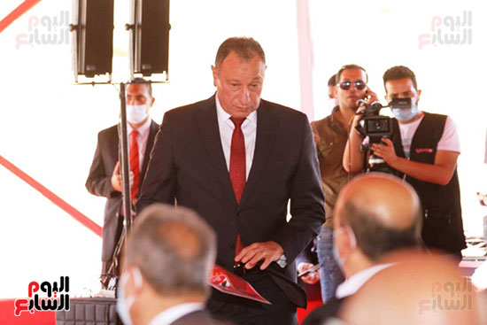 Ceremony for laying the cornerstone of Al-Ahly Stadium (50)