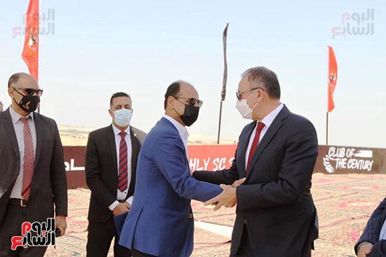 Ceremony of laying the cornerstone of Al-Ahly Stadium (3)
