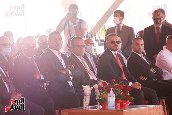 Ceremony of laying the cornerstone of Al-Ahly Stadium (41)