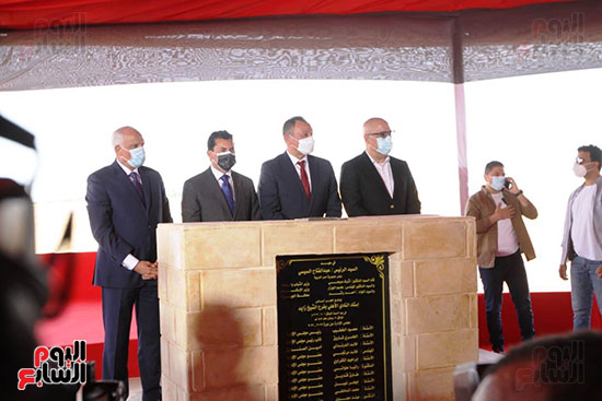 Ceremony laying the foundation stone for Al-Ahly Stadium (67)