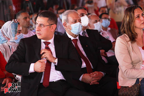 Ceremony of laying the foundation stone for Al-Ahly Stadium (44)