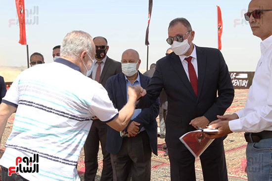 Ceremony of laying the foundation stone for Al-Ahly Stadium (5)