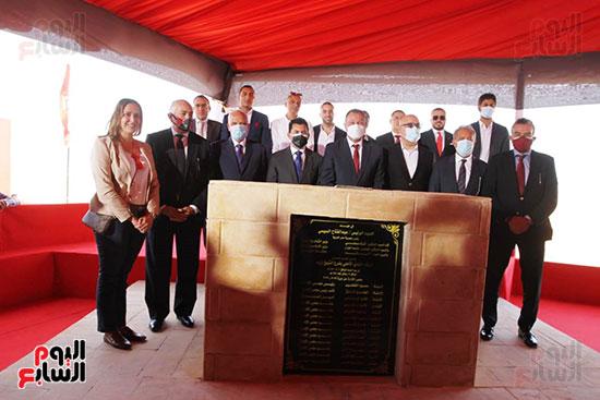 Ceremony of laying the cornerstone of Al-Ahly Stadium (70)