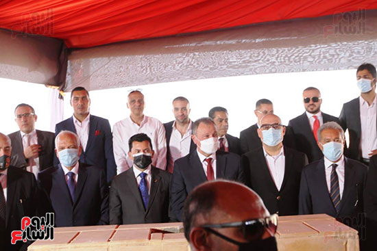 Ceremony for laying the cornerstone of Al-Ahly Stadium (72)