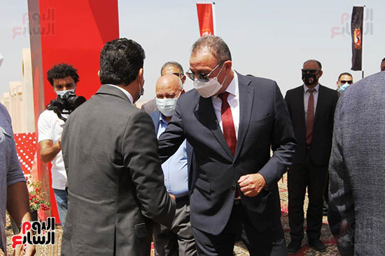 Ceremony laying the foundation stone for Al-Ahly Stadium (22)