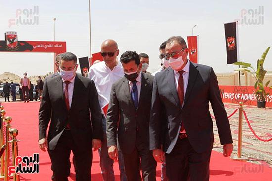 Ceremony of laying the cornerstone of Al-Ahly Stadium (23)