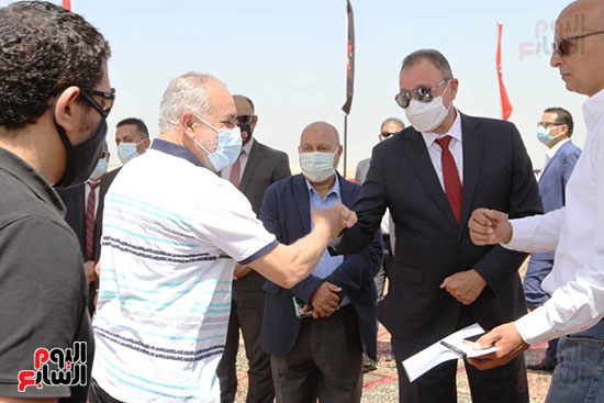 Ceremony laying the foundation stone for Al-Ahly Stadium (4)