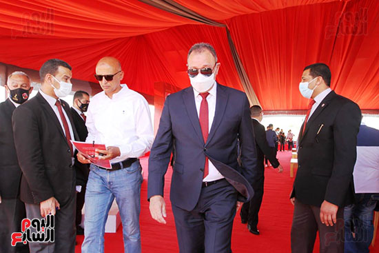 Ceremony laying the foundation stone for Al-Ahly Stadium (17)