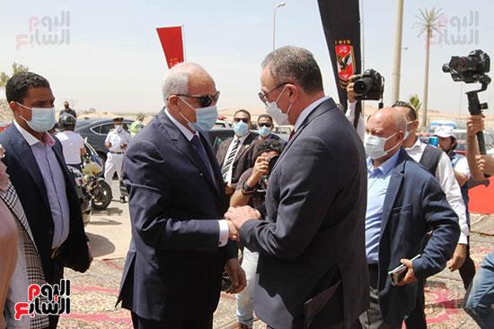 Ceremony of laying the cornerstone of Al-Ahly Stadium (14)
