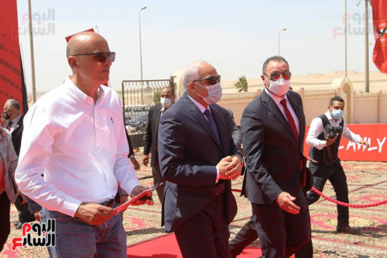 Ceremony laying the foundation stone for Al-Ahly Stadium (15)