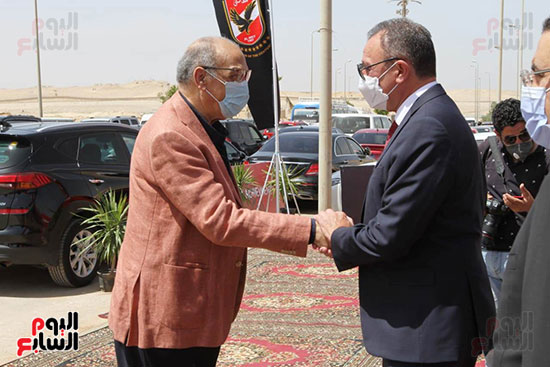 Ceremony laying the foundation stone for Al-Ahly Stadium (19)
